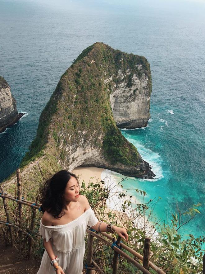 Thảo Anh trong hành trình du lịch Bali một mình.