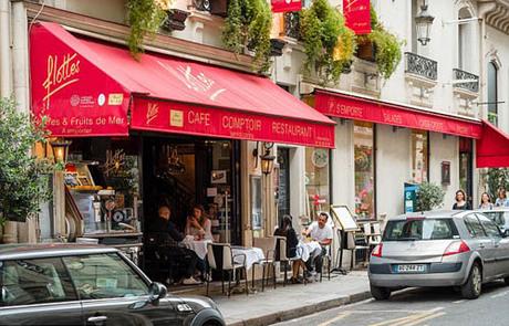 Flottes - quán ăn hai cha con Glover đã ăn tối tại Paris. Ảnh: Alamy Photo stock.