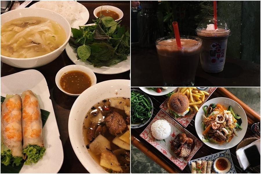 Thời tiết tháng 8 ở miền Trung Việt Nam khá giống với thời điểm này tại Hàn Quốc nhưng độ ẩm cao hơn, khiến anh cảm thấy khó chịu khi bước vào quán ăn nào quá nóng. Tuy nhiên, là một người yêu thích ẩm thực Việt, Seungju đã nếm kha khá món đặc trưng, trong đó có cà phê cốt dừa được cộng đồng du lịch xứ kim chi đánh giá cao.