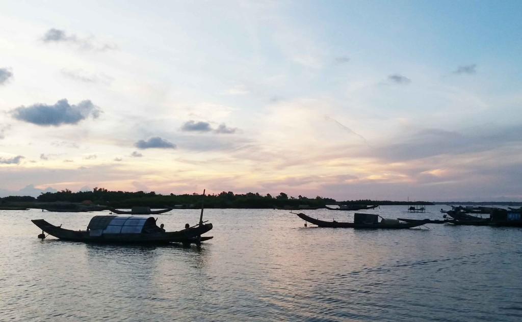 Vẻ đẹp thanh bình của phá Tam Giang