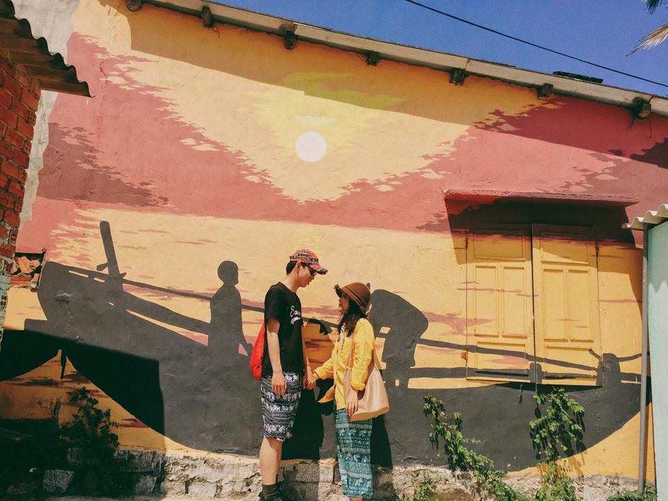 Làng Tam Thanh không quá lớn, bạn chỉ mất khoảng một buổi hay một ngày là có thể khám phá và trải nghiệm trọn vẹn làng chài này. Ảnh: Huong Mymy.