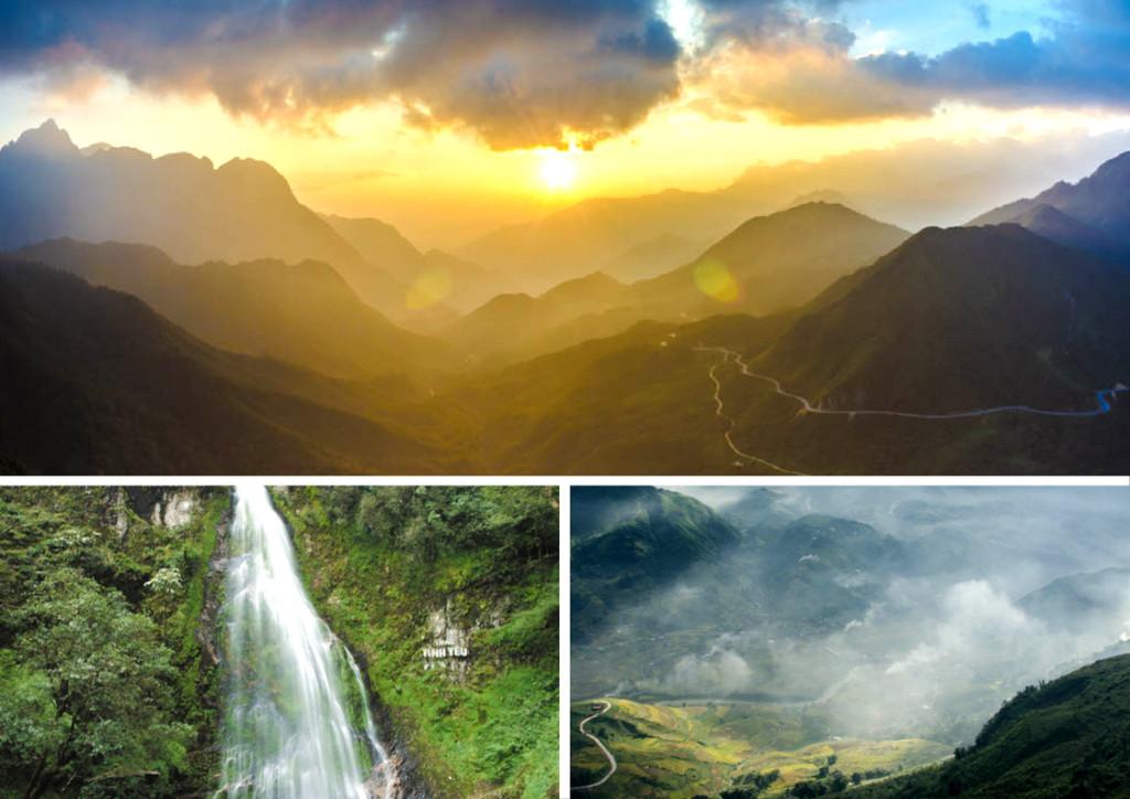 Ngắm hoàng hôn trên Ô Quy Hồ, thăm thác Tình Yêu, Thác Bạc, trekking các bản làng là những trải nghiệm không thể bỏ qua ở Sa Pa. Ảnh: Trần Việt Anh.