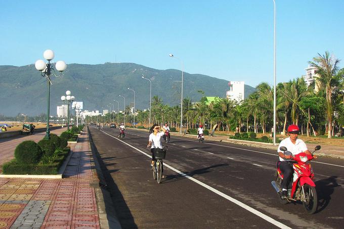 Đây là nơi du khách và người dân có thể đi dạo, tập thể dục vào mỗi buổi sáng.