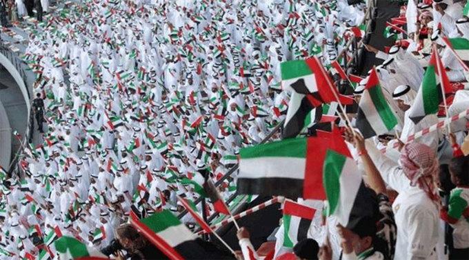 Các tiểu Vương quốc Ả Rập Thống nhất (UAE) là một liên bang gồm 7 tiểu vương quốc Abu Dhabi, Dubai, Sharjah, al-Khaimah của Ra, Ajman, Umm al-Quwain và Fujairah. Quốc khánh của UAE là ngày 2/12. Ảnh: Khaleej Times.