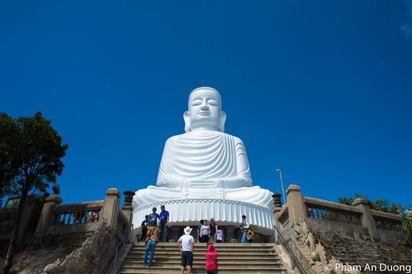 Thích Ca Phật Đài trên Bà Nà. Ảnh: Pham An Duong