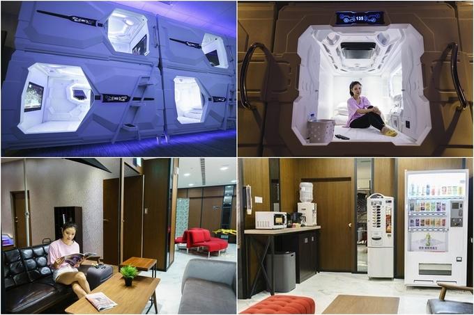 Các tín đồ của phim điện ảnh Star Wars sẽ thích thú với UZ Hostel bởi thiết kế các buồng ngủ như khoang tàu vũ trụ, trang bị tivi và cửa kéo thay vì rèm như các hostel khác. UZ cách trạm Fuzong 3 phút đi bộ nên cũng khá tiện khi di chuyển. Đồng thời, chợ đêm Nanya gần đây đủ để đáp ứng nhu cầu ăn vặt của khách du lịch. Giá phòng rẻ nhất tầm 400.000 đồng/người/đêm.