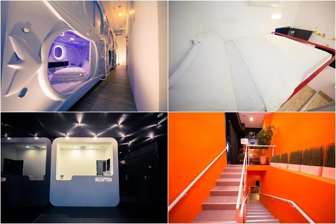 Socket sleep box cạnh ga tàu điện Ximen - chốn ăn chơi quen thuộc của du khách khi đến Đài Bắc không chỉ cung cấp các dạng phòng con nhộng mà còn có phòng đơn hoặc phòng đôi dành cho khách muốn không gian riêng tư. Các phòng tuy nhỏ nhưng trang bị đầy đủ tiện nghi, khu sinh hoạt chung khá rộng, cho khách thoải mái trò chuyện, làm quen bạn mới. Một người tốn ít nhất khoảng 350.000 đồng/đêm ở đây.