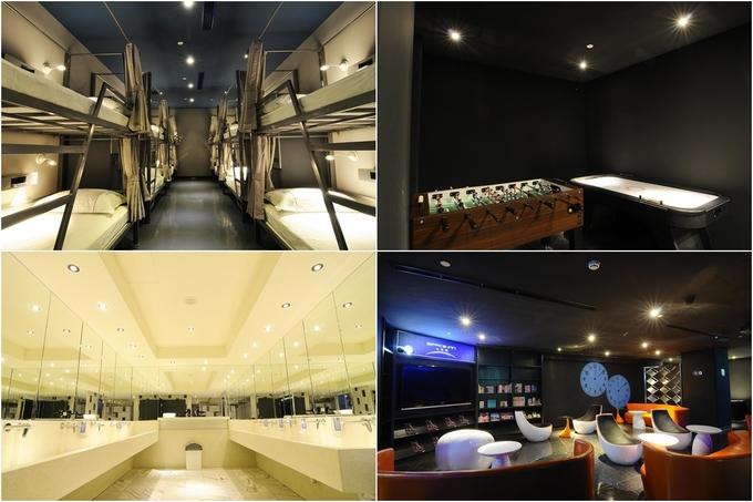 Space Inn Hengyang Branch thích hợp dành cho phái nam với thiết kế hiện đại, giường tầng truyền thống và khu sinh hoạt chung có đủ trò giải trí. Nó chỉ cách khu mua sắm Ximending 5 phút đi bộ và cũng gần ga Ximen, giúp du khách dễ dàng di chuyển đến các điểm tham quan trong thành phố bằng phương tiện công cộng. Giá phòng dành cho một người là 230.000 đồng/đêm, khá hợp lý so với vị trí của Space Inn.