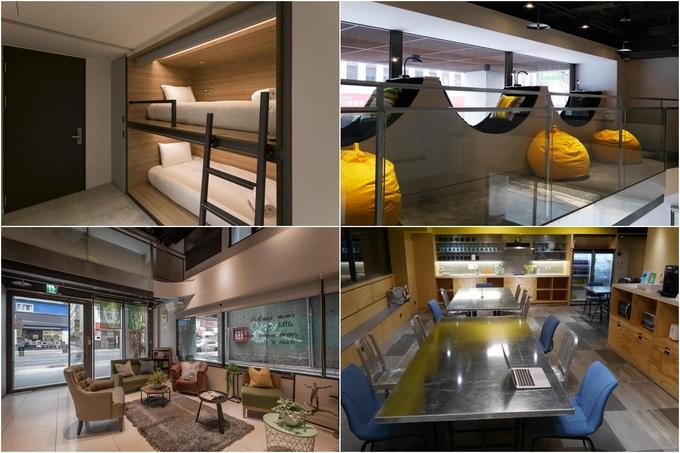 Cũng nằm gần các điểm vui chơi có tiếng ở Đài Bắc, Bouti City Capsule Inn dành cho khách du lịch mê ẩm thực xứ Đài khi chỉ cách khu ăn uống ở Ximending lẫn Taipei 101 khoảng 10 phút đi bộ. Phòng ốc ở đây rộng, có giường đôi dành cho các cặp tình nhân. Giá phòng một đêm thấp nhất khoảng 370.000 đồng/người.