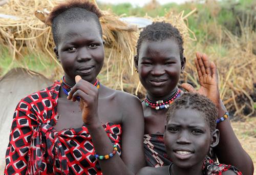 Người dân ở Nam Sudan phần lớn theo nghề canh tác, chăn nuôi. Ảnh: Norwegian People's Aid.