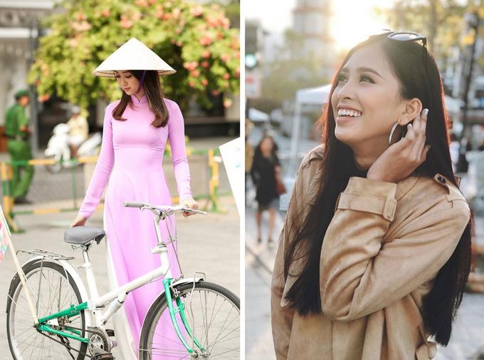 Khách Tây nghĩ: Người Việt Nam mặc áo dài, đội nón lá suốt ngày. Ảnh: Kim Điền. Thực tế: Người Việt Nam ăn mặc giống như những nước khác, nhiều cô gái cập nhật các phong cách thời trang mới nhất.