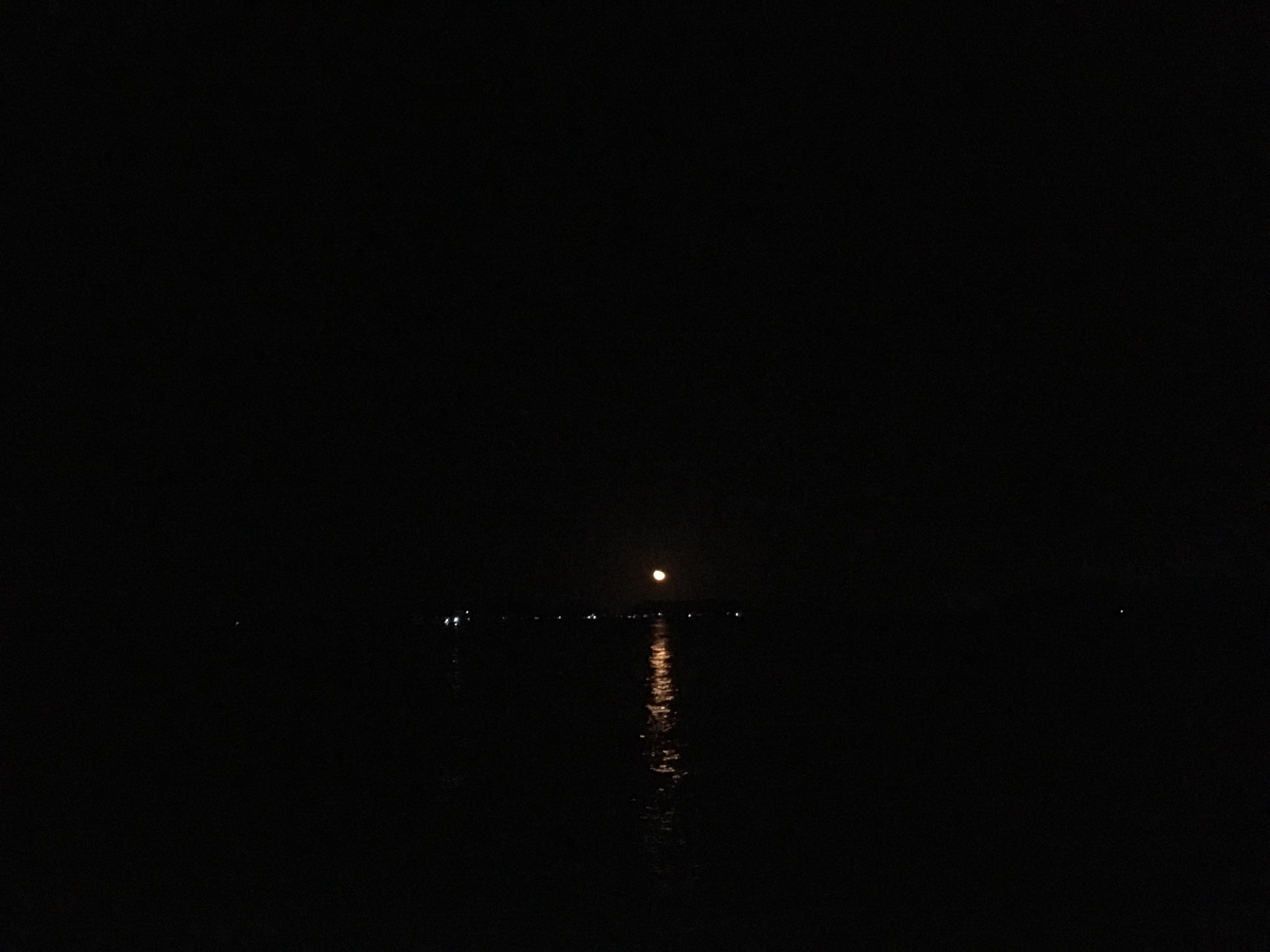 Biển trăng óng ánh tôi may mắn được chiêm ngưỡng