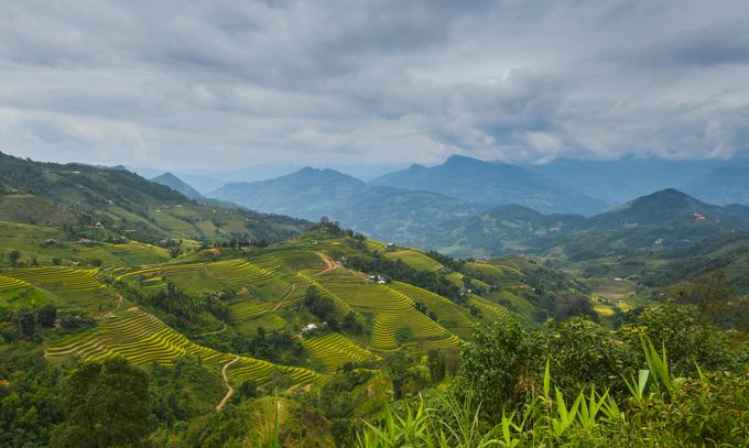 Hoàng Su Phì là huyện biên giới vùng cao của tỉnh Hà Giang với những thửa ruộng bậc thang vào loại đẹp nhất Việt Nam.