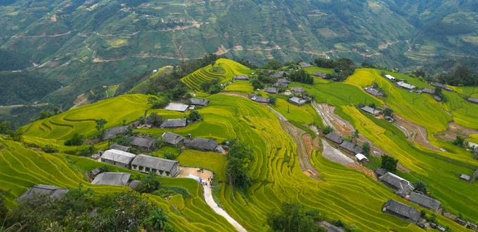 Năm 2012, ruộng bậc thang Hoàng Su Phì đã được Bộ Văn hóa, Thể thao và Du lịch chính thức cấp bằng công nhận Di tích Quốc gia.