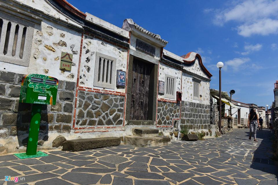 Những ngôi làng cổ cũng là địa điểm độc đáo cho bạn khám phá khi đặt chân đến Bành Hồ. Tại đây, bạn có thể ngắm nhìn những ngôi nhà được xây dựng từ lâu đời mang đậm phong cách kiến trúc phương Đông.
