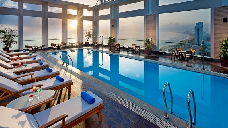 Ảnh: Khách sạn Diamond Sea Đà Nẵng