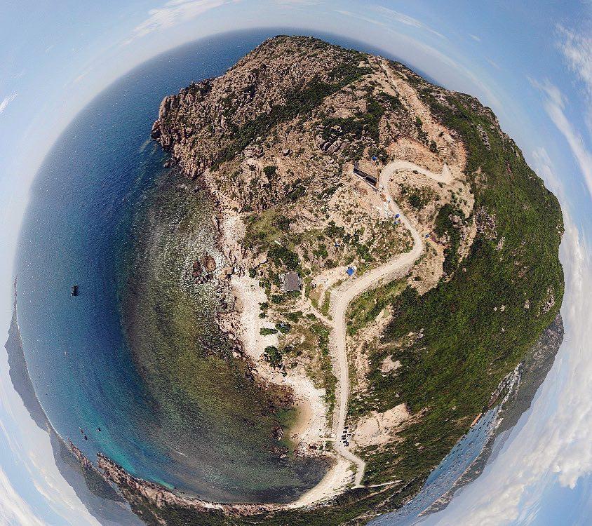 Ảnh 360 độ tại Anami Resort Bình Ba. Ảnh: vuonglam0000