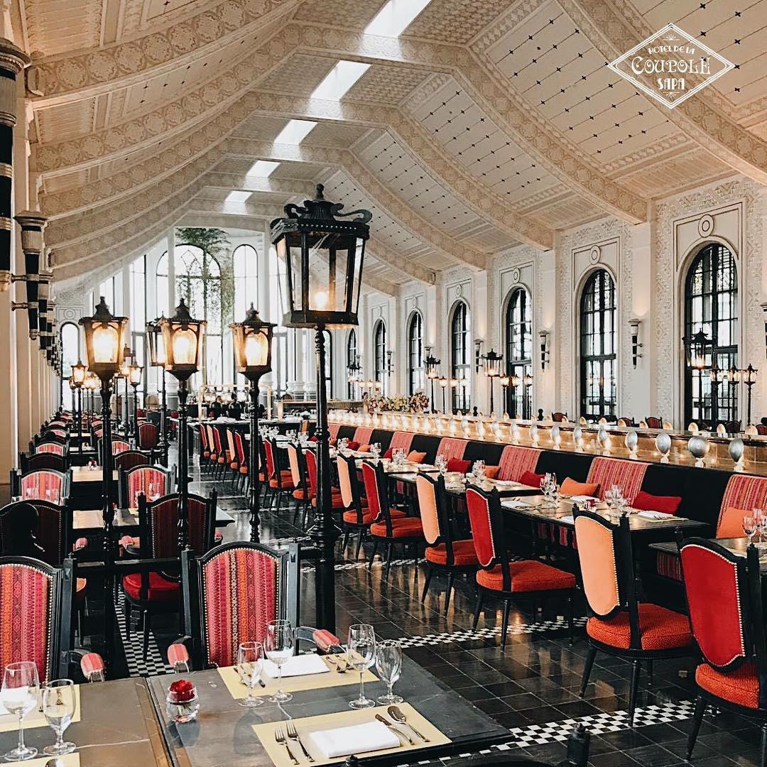 Ảnh: @Hotel De La Coupole Sapa – Mgallery by Sofit