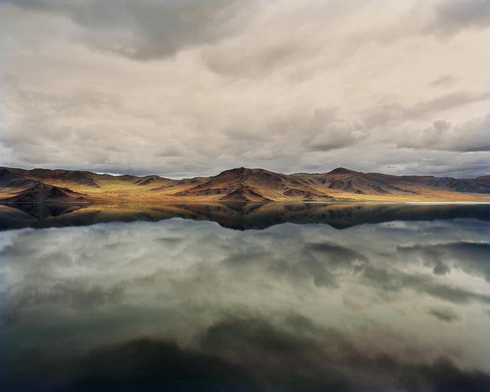 Cảnh đẹp yên bình tại khu vực hồ Tolbo ở Bayan-Ulgii, phía tây Mông Cổ