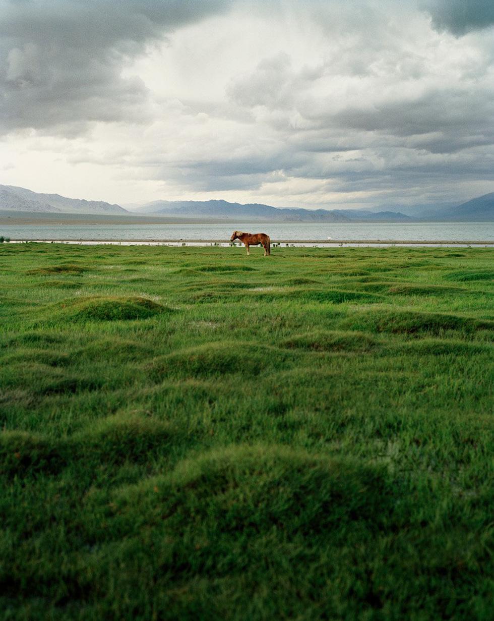 """""""Đến Mông Cổ, bạn sẽ bị bao quanh bởi trời đất mênh mông, bao la. Dù bạn nhìn về phía nào, bạn cũng nhận thấy xung quanh là những cánh đồng, ngọn núi xa xôi và bầu trời"""", Lagrange cho biết."""