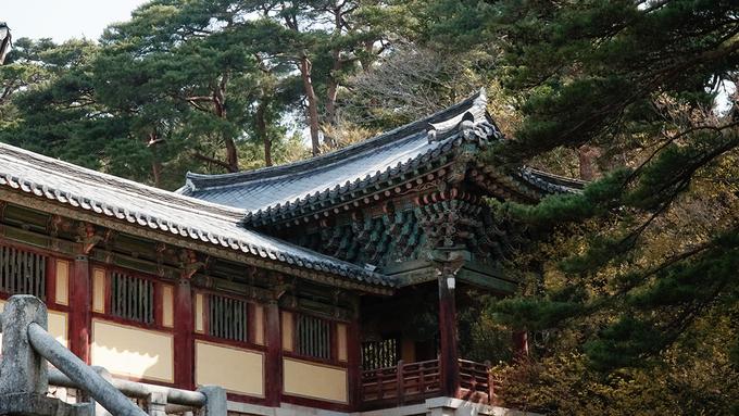 Toàn bộ chùa được xây dựng bằng hàng triệu viên đá nhỏ kết dính với nhau bằng chất liệu đặc biệt.