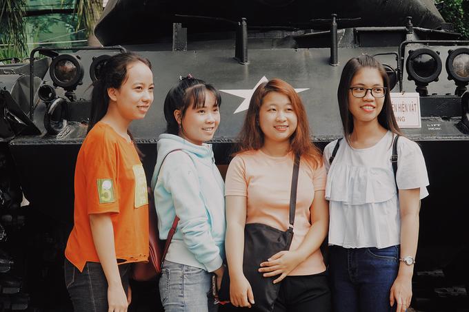 Với những hình ảnh, hiện vật chi tiết và sống động, bảo tàng được đông đảo các bạn sinh viên tìm đến để hiểu thêm về lịch sử Việt Nam trong các cuộc chiến tranh.