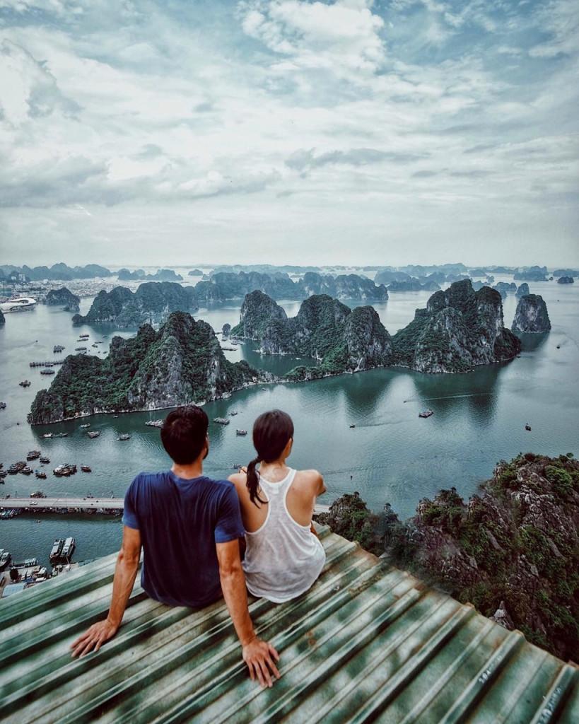 """Cách đây 15-20 năm, Hạ Long từng là một trong những điểm đến """"hot"""" nhất của làng du lịch. Ảnh: @man280293."""