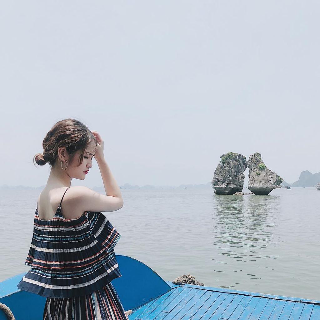 Du lịch đang trở thành ngành kinh tế mũi nhọn ở Quảng Ninh. Ảnh: @zen.ng_, @luvbeige.204.