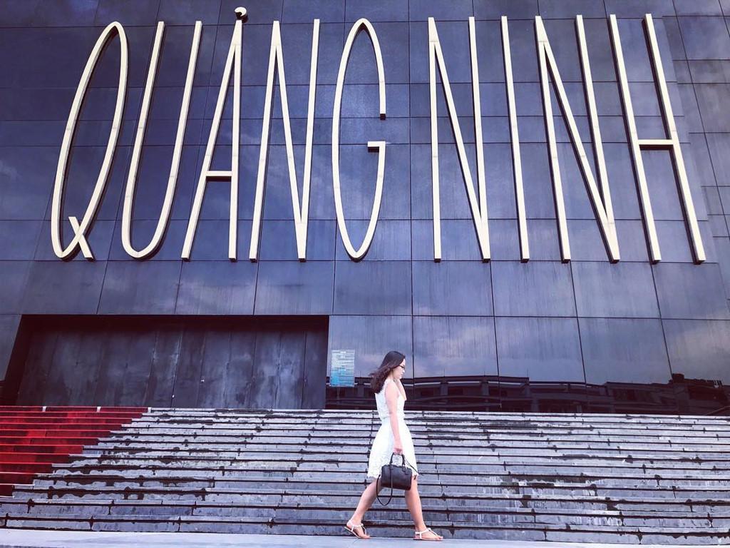 Bảo tàng Quảng Ninh thu hút giới trẻ đến check-in. Ảnh: @huongwater.