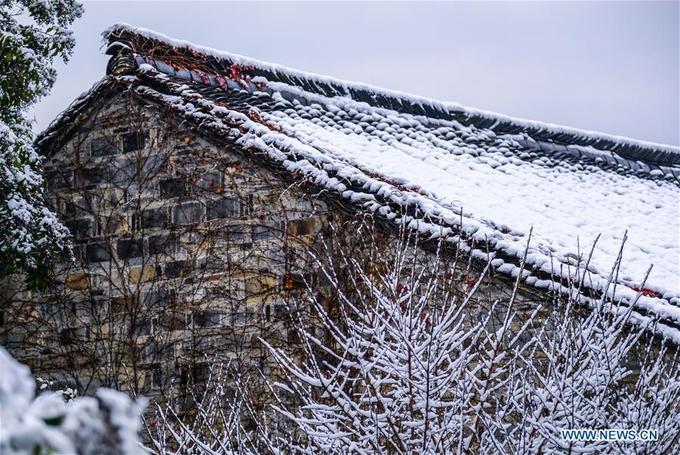 Ô Trấn có tuổi đời 1.300 tuổi, thuộc vùng đất Giang Nam trù phú chằng chịt kênh rạch. Hai bên là nhà ở, nhà xưởng, cửa hàng, xây dựng trên lối kiến trúc cổ của Trung Hoa với gỗ và đá trụ cột.
