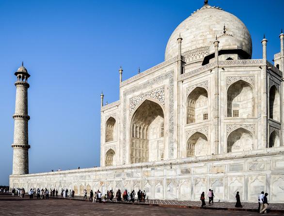 Ngôi đền Taj Mahal ở Ấn Độ đóng cửa vào thứ 6 hàng tuần - Ảnh: DƯƠNG QUÁN HẠ
