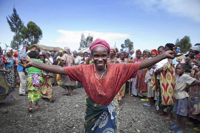 Congo Kinshasa cũng có năm mới theo lịch như bao quốc gia khác trên thế giới nhưng người dân phải chờ rất nhiều năm mới có thể ngắm pháo hoa một lần. Ảnh: United Nations.