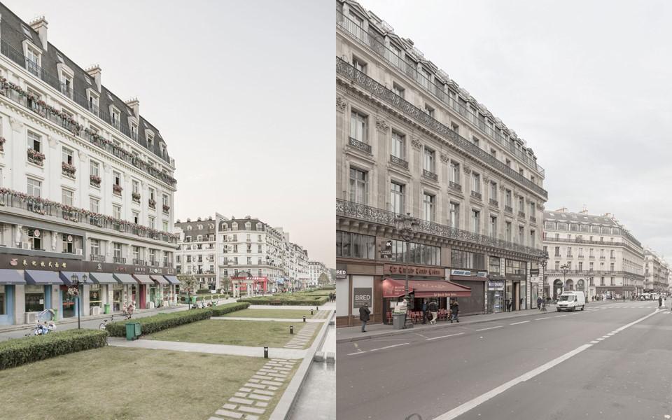 Theo Reuters, Thiên Đô Thành được xây dựng từ năm 2007 với mục đích giúp tầng lớp trung lưu Trung Quốc có thể trải nghiệm cuộc sống châu Âu mà không cần đi xa. Do đó, các tòa nhà trong khu vực này xây theo kiến trúc đặc trưng của Pháp, từ màu sắc đến kiểu dáng.