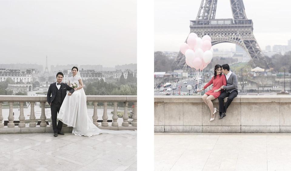 Vì những công trình mang hơi hướm nước Pháp, khu vực này cũng trở thành nơi lý tưởng cho các cặp đôi chụp ảnh cưới.