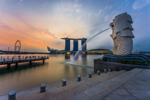 Sư tử Merlion - biểu tượng nổi tiếng của Singapore. Ảnh: Culture Trip.