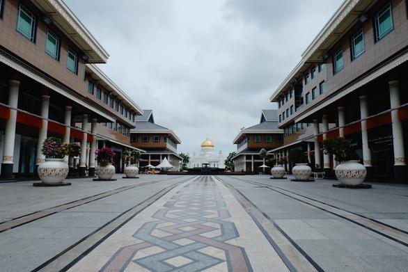 Đường phố ở Brunei - Ảnh: NGÔ HOÀNG ANH
