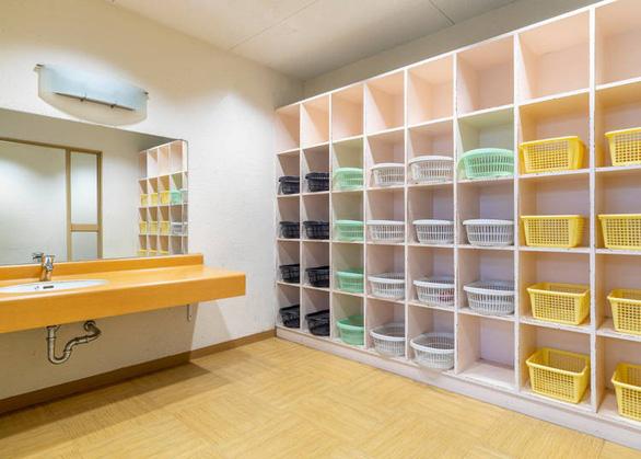 Phòng thay đồ ở onsen