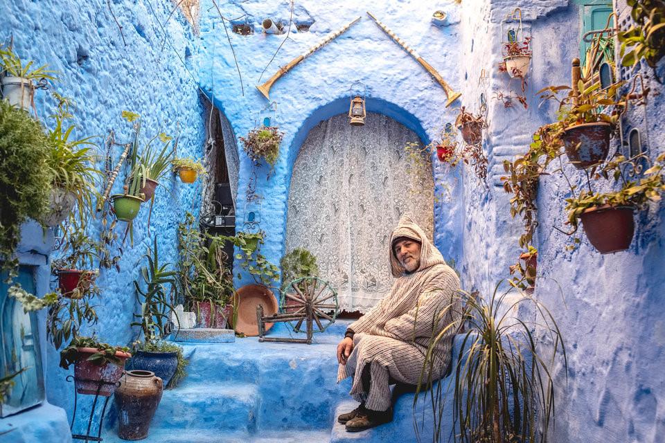 Thành phố xanh ở Morocco nổi như cồn nhờ Instagram – iVIVU.com