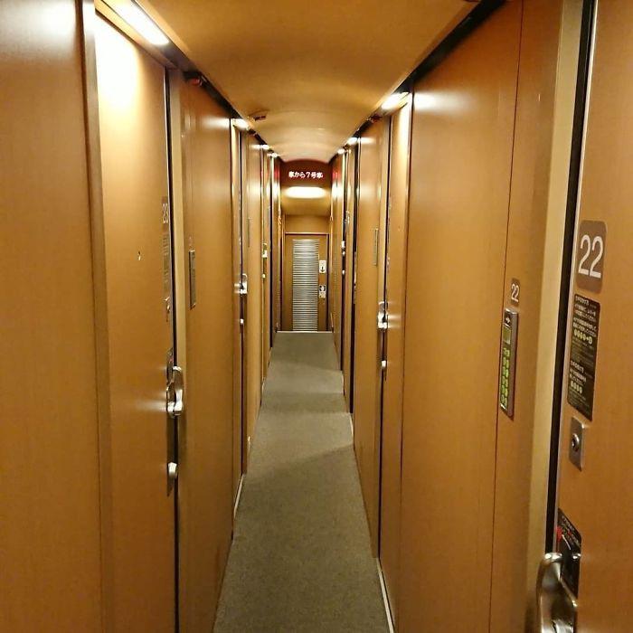 Theo lịch trình hàng ngày, các chuyến tàu bắt đầu khởi hành từ Tokyo lúc 22h, dừng tại 2 điểm là Takamatsu lúc 7h27 và tại Izumoshi lúc 9h58. Bên trong các chuyến xe lửa, có 2 loại phòng cho du khách chọn là phòng cabin hoặc phòng dorm. Phòng dorm mang phong cách đặc trưng của chuyến xe lửa đường dài xứ Phù Tang. Phòng cabin được chia thành 5 loại phòng khác nhau là phòng Single Deluxe, Sunrise Twin, Single Twin, Single và Solo, đáp ứng nhu cầu riêng tư của du khách. 5 loại phòng này thuộc khoang hạng nhất và hạng hai. Ảnh: Happytrain_sunamichan, apubby.