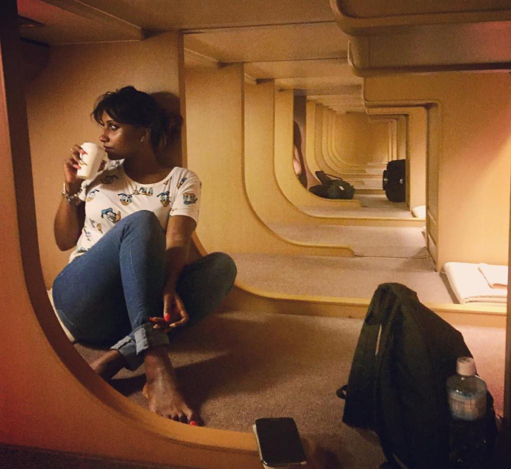 Nếu muốn tiết kiệm chi phí, bạn có thể chọn ngủ ở phòng dorm, hay còn gọi là phòng Nobinobi, thuộc khoang hạng 3. Du khách ngủ phòng Nobinobi không phải trả thêm phụ phí nào khi mua vé tàu. Trong khi những người chọn phòng cabin phải trả thêm phụ phí khoảng 17.000 yen (khoảng 153 USD). Ảnh: sandy_ganlath, gwu.