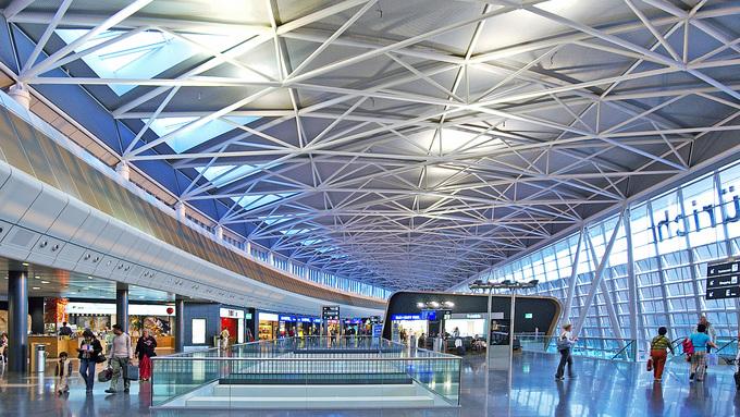 9. Zurich, Thụy Sĩ  Đây là sân bay quốc tế lớn nhất Thụy Sĩ và được mệnh danh là sân bay tốt nhất thế giới phục vụ hành khách ở số lượng 20-30 triệu hành khách. Ảnh: Arup.