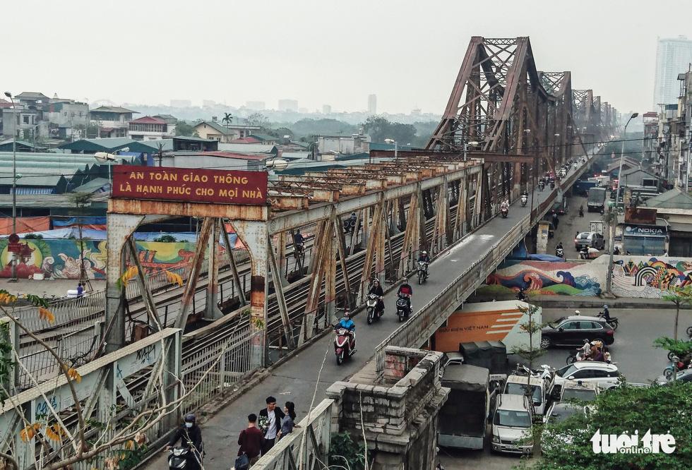 Cầu Long Biên - Ảnh: NAM TRẦN