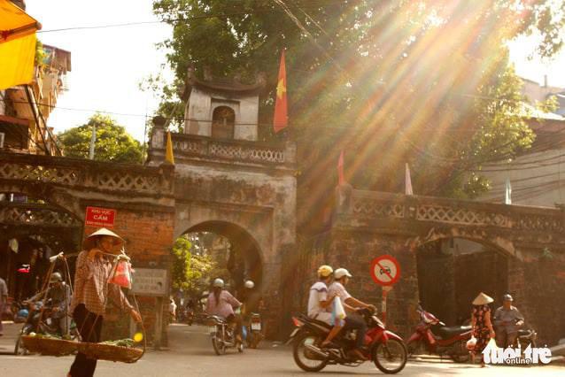 Ô Quan Chưởng trong phố cổ Hà Nội - Ảnh: GIA TIẾN