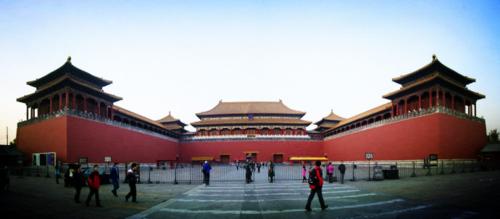 Ngọ Môn là cổng lớn nhất trong Tử Cấm Thành, nằm ở phía nam cung điện. Ảnh: ZBKC.