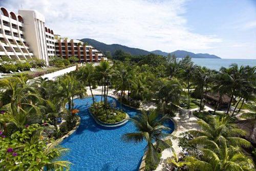 Trên ảnh là khách sạn mà gia đình chị Hường ở khi tới Malaysia du lịch. Ảnh: NVCC.