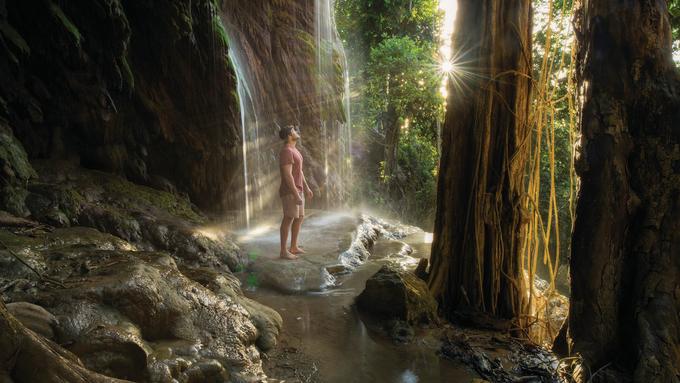 Ngoài cuộc di cư của những con cua, khách du lịch đến đảo Christmas còn có nhiều lựa chọn tham quan khác. Với 63% diện tích là rừng cây, nơi này đem đến cho khách du lịch những chuyến trekking đường rừng với địa hình từ dễ đến khó, phù hợp với nhiều mức độ thử thách mà du khách mong muốn. Ảnh: Aussie Specialist.