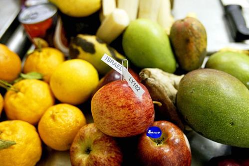 Trái cây và rau củ cũng là những mặt hàng du khách không thể đem theo khi nhập cảnh Hàn Quốc. Ảnh: Alamy.
