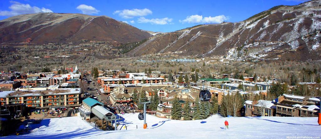 1. Aspen, Colorado, Mỹ: Aspen là một thị trấn nghỉ dưỡng tuyệt đẹp nằm ở độ cao 2.438 m được bao quanh bởi dãy núi Elk hùng vĩ. Thị trấn nổi tiếng với những khu trượt tuyết hấp dẫn và lễ hội âm nhạc sôi nổi. Tới đây, bạn sẽ thưởng thức nét văn hóa độc đáo của người dân địa phương, thử món ăn độc lạ hoặc trải nghiệm tham quan xung quanh bằng khinh khí cầu.