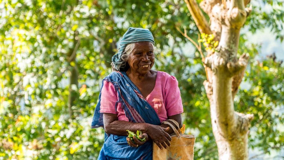 Nụ cười hiền hậu của người dân Sri Lanka
