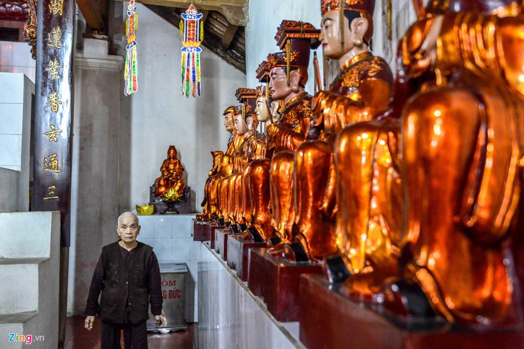 Năm 1889, chùa được trùng tu một lần. Sau kháng chiến chống Pháp, ngôi chùa bị cháy nhưng vẫn còn khung, những người già trong làng đã khôi phục lại.